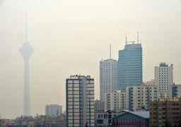 آلودگی هوا در پایتخت