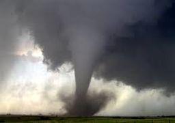 خسارتهای گردباد در اوهایو آمریکا + فیلم