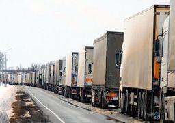 معطلی ۷۰۰ کامیون در مرز لطفآباد/ وضعیت مرزهای عراق و افغانستان عادی شد/ حمل و نقل واگنی، راهکار صادرات به اوراسیا
