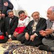 رئیس قوه قضائیه در چادر مردم زلزله زده سرپل ذهاب حضور یافت + عکس