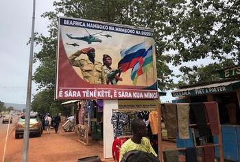 روس ها در آفریقا مستقر می شوند