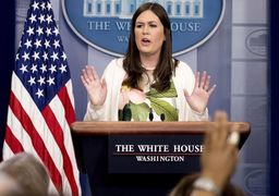 سارا سندرز: ترامپ سخنان تهدیدآمیز ایران را تحمل نخواهد کرد