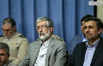 حدادعادل: احمدی نژاد برای آمدن به مجلس ناز کرده بود!/فضای مجلس جوری شده بود که احتمال ترکیده شدن داشت