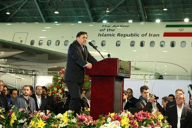 ورود اولین ایرباس نو بعد از 4 دهه به ایران