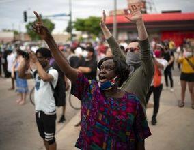 تصاویر اعتراضات آمریکا(2)| سیاهوسفید علیه نژادپرستی