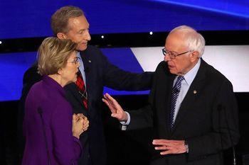 خیانت الیزابت به برنی؛ همکاری پنهان وارن با دموکراتها برای پایین کشیدنِ سندرز