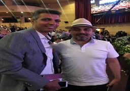 رضا عطاران و عادل فردوسیپور در جشن حافظ+عکس