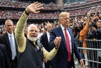 بزرگترین استقبال از یک رهبر خارجی در امریکا / ترامپ، دوست واقعی هند