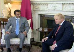 ایران، عربستان و یمن محورهای دیدار بوریس جانسون با امیر قطر