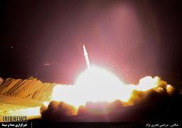 اینفوگرافیک حمله موشکی سپاه به مقر داعش در دیرالزور + عکس