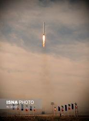 «پرتاب نور»| تصاویر نخستین پرتاب موفق ماهواره نظامی ایران به فضا