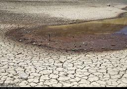 یک نمونه از فاجعه خشکسالی در اطراف تهران