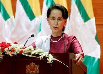 پایان سکوت «زن بی رحم» در برابر جنایات میانمار