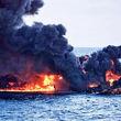 شناسایی یکی از پیکرهای بجا مانده از حادثه نفتکش سانچی