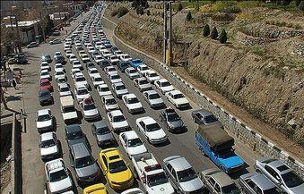 وضعیت جاده های کشور در آغاز تعطیلات پایان هفته