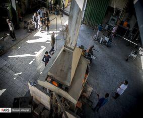 تصاویر کارگاه تولید شیشه