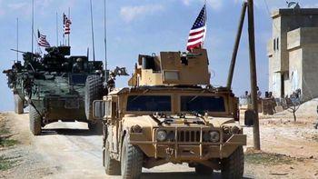 حمله موشکی به پایگاه نظامیان آمریکا در شرق سوریه