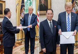 واکنشها به سایز نامه «اون» به «ترامپ» +عکس