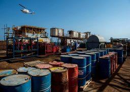 انتقال میلیونها بشکه نفت به ابرنفتکش ها