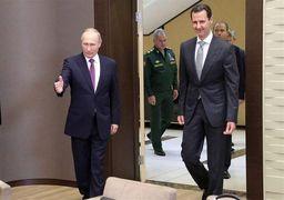 چرا پوتین تمام فرماندهان نظامی را در دیدار با بشار اسد به صف کرد؟ + عکس