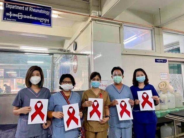 اعتراض میانمار