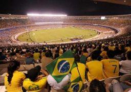 انتقاد گسترده از ساخت فیلمی مبتذل در یک استادیوم فوتبال مشهور