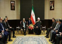 قدردانی روحانی از اردوغان در دیدار رئیس مجلس ترکیه