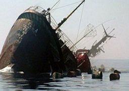 کشتی باری «شباهنگ» در خزر غرق شد
