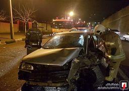 فوت ۷۶ نفر در ۳ روز گذشته در حوادث جاده ای