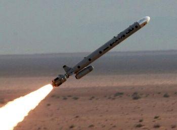 اصابت موشک به بغداد