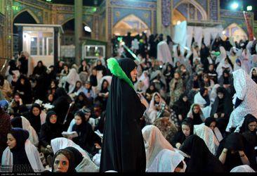 احیاء شب بیست و یکم در امام زاده صالح (ع)