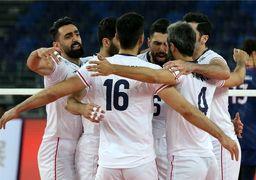 والیبال ایران در آستانه صعود به المپیک