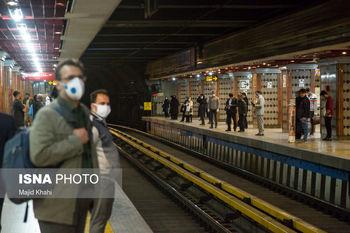 احداث دیوار شیشه ایی در مترو تهران برای جلوگیری از خودکشی !