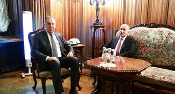 انتقاد لاوروف از حضور آمریکا در عراق و سوریه