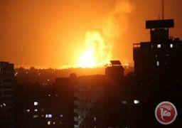حمله هوایی به نوار غزه