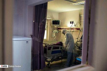 بخش ویژه «بیماران کرونا» بیمارستان امام رضا(ع) تبریز