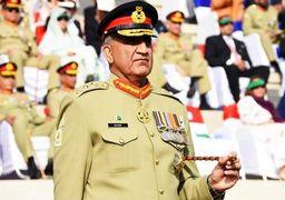 واکنش فرمانده ارتش پاکستان به احتمال وقوع جنگ میان ایران و عربستان