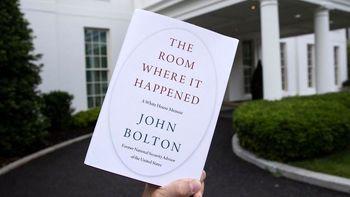 کتاب جان بولتون مجوز چاپ گرفت
