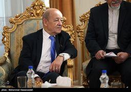 استقبال متفاوت ژنرال شمخانی از وزیر خارجه فرانسه + عکس