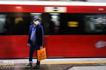 ایستگاه مترو بسیج  تهران تعطیل شد