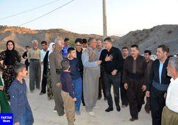 عکس های جدید از حضور علی دایی در یکی از روستاهای زلزله زده + عکس