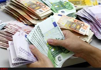 کاهش عرضه یورو در بازار ارز