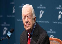 جیمی کارتر: از عقبنشینی آمریکا از حمله به ایران خوشحالم