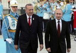 اردوغان در دیدار با رییس جمهور روسیه: آینده سوریه برای ما مهم است