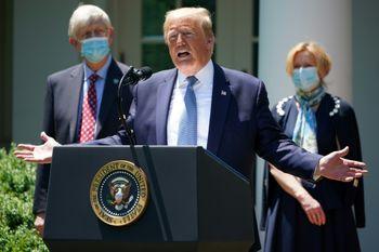 فوری/ترامپ تسلیم اعتراضات شد
