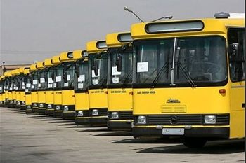 روزانه چه تعداد اتوبوس های تهران تعمیر می شوند ؟