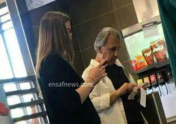محمود خاوری آفتابی شد + عکس