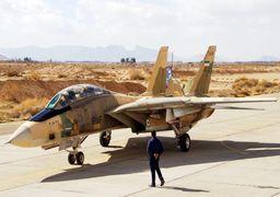 جشن ورود جنگنده اف 14 به ایران +عکس