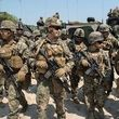 هزار نیروی تفنگدار دریایی آمریکا در راه خاورمیانه