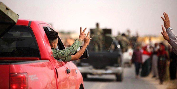 ارتش سوریه پس از پنج سال وارد شهر «عین عیسی» شد